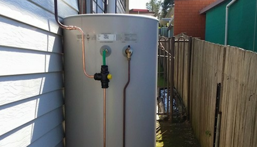 hot water system service and installations